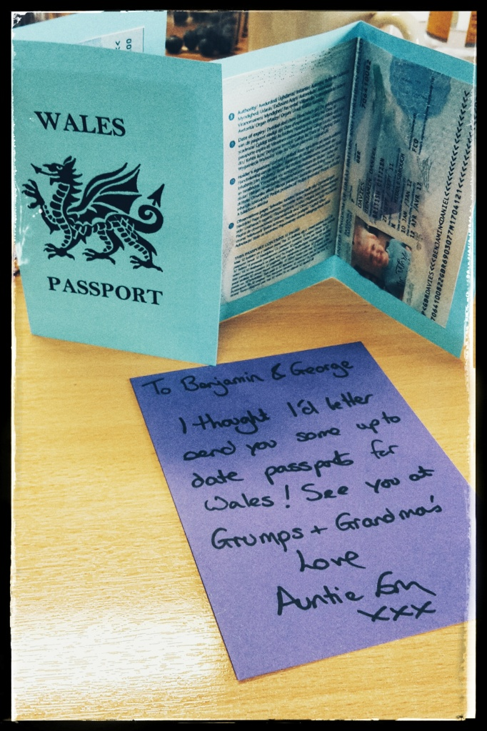 Welsh passports